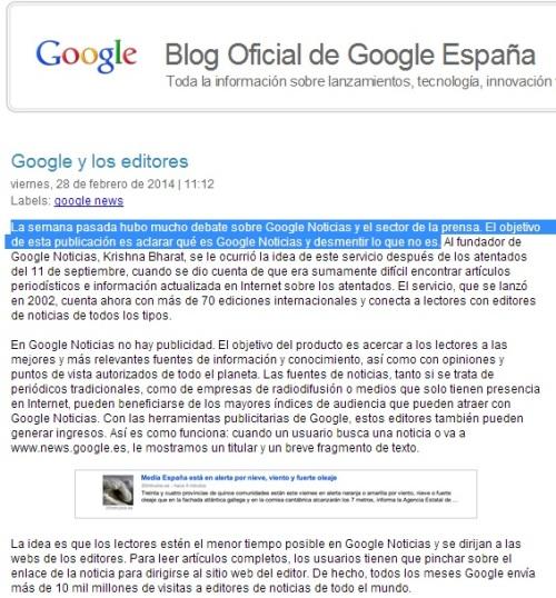 """Google """"recibimos muchas más solicitudes de inclusión en Google Noticias que de exclusión"""" // Marta Puigdueta"""